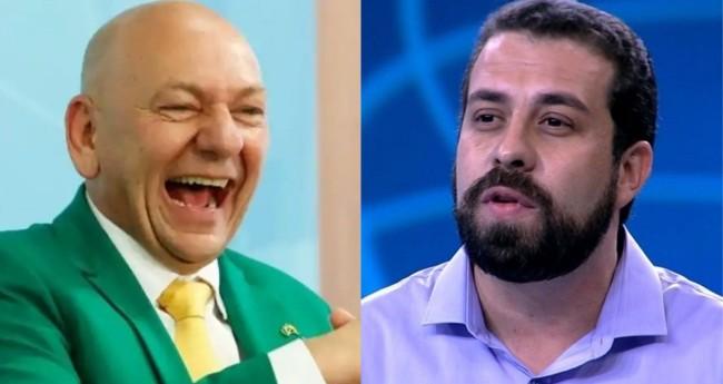 Luciano Hang e Guilherme Boulos - Foto: Reprodução