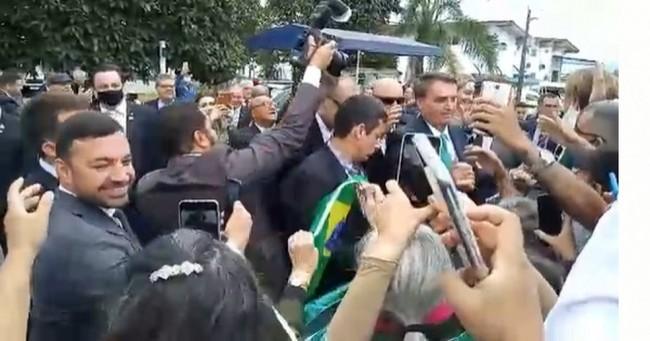 Jair Bolsonaro em SC - Foto: Reprodução
