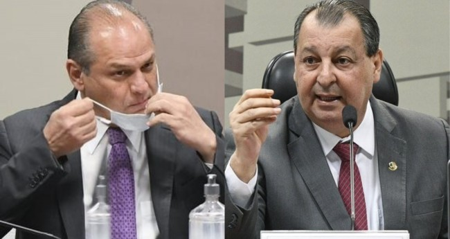 Ricardo Barros e Omar Aziz - Foto: Agência Senado