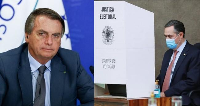 Fotomontagem - Foto: Presidencia da República / TSE