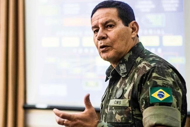 General Hamilton Mourão - Foto: Agência Brasil