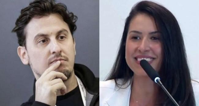 Leandro Demori e Ludmila Lins Grilo - Foto: Reprodução