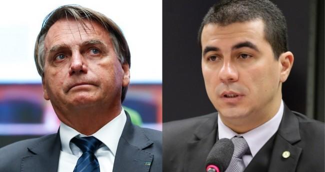 Jair Bolsonaro e Luis Miranda - Foto: PR; Câmara