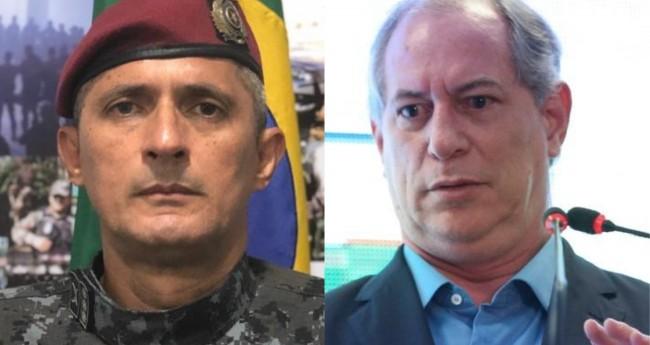 Coronel Aginaldo e Ciro Gomes - Foto: Reprodução