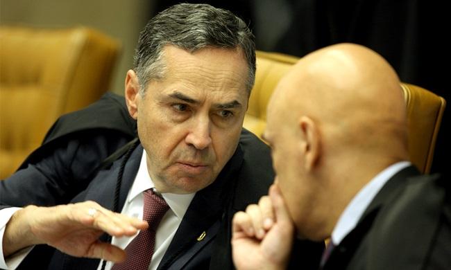 Luís Roberto Barroso e Alexandre de Moraes, ministros do STF - Foto: Nelson Jr./STF