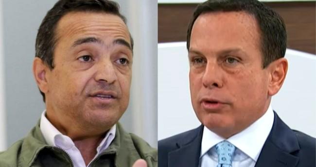 Coronel Homero Cerqueira e João Doria - Foto: Agência Brasil; Reprodução