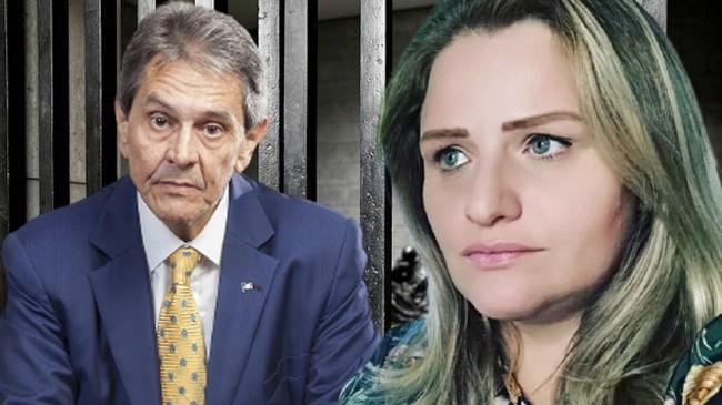 Roberto Jefferson e Graciela Nienov - Foto: Reprodução
