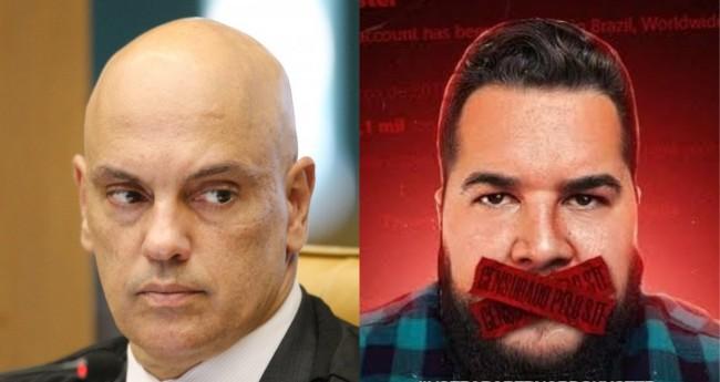 Alexandre de Moraes e Bernardo Kuster - Foto: STF; Divulgação