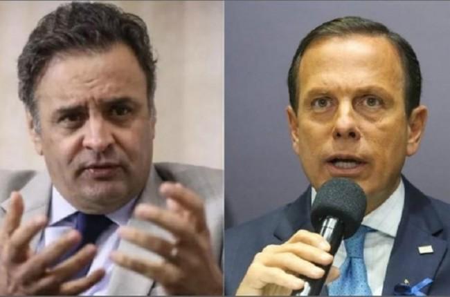 Aécio Neves e Jair Bolsonaro - Foto: Reprodução