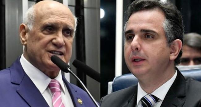 Lasier Martins e Rodrigo Pacheco - Foto: Agência Brasil