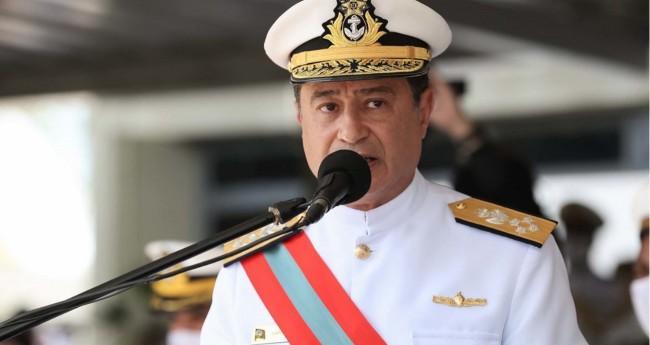 Almir Garnier Santos, comandante da Marinha - Foto: Reprodução