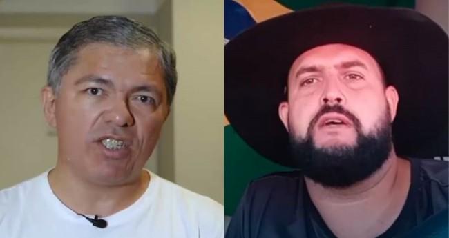Wellington Macedo e Zé Trovão - Foto: Reprodução