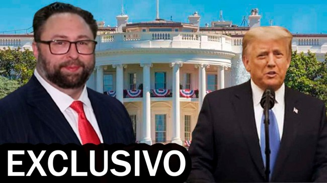Jason Miller e Donald Trump - Foto: TV JCO