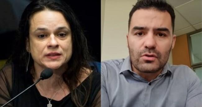 Janaína Paschoal e Arthur Mamãe Falei - Foto: Reprodução