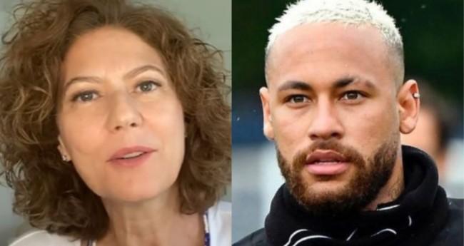 Patrícia Pillar e Neymar Jr. - Foto: Reprodução