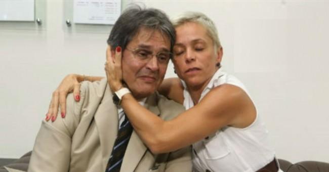 Roberto Jefferson e Cristiane Brasil - Foto: PTB