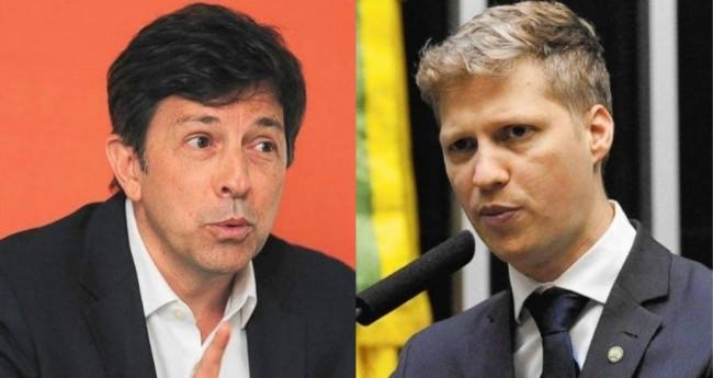 João Amoêdo e Marcel van Hattem - Foto: Reprodução/Câmara