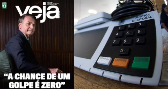 Foto: Revista Veja; Agência Brasil