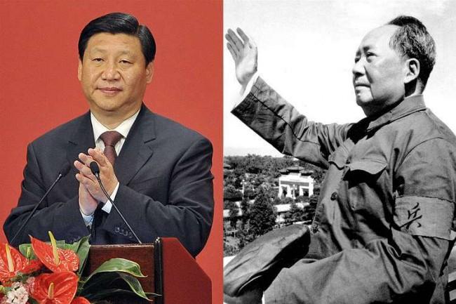 Xi Jinping e Mao-Tsé Tung - Reprodução internet