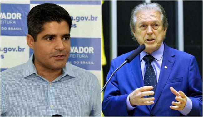 ACM Neto e Luciano Bivar - Reprodução internet