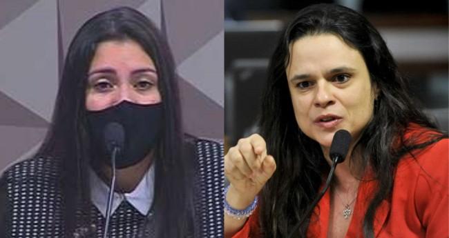 Bruna Morato e Janaína Paschoal - Foto: Reprodução; Geraldo Magela/Agência Senado