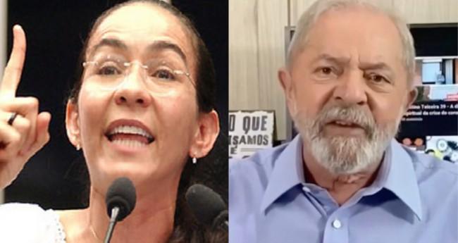 Heloisa Helena e Lula - Foto: Reprodução