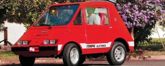 Gurgel, criou o primeiro carro elétrico da América Latina - Reprodução internet