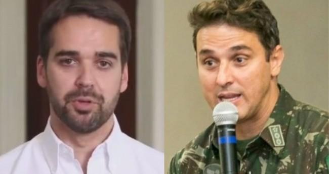 Eduardo Leite e Tenente-Coronel Zucco - Foto: Reprodução