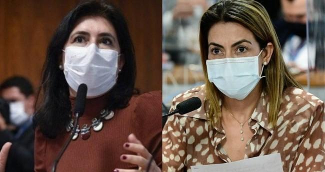 Simone Tebet e Soraya Thronicke - Foto: Agência Senado