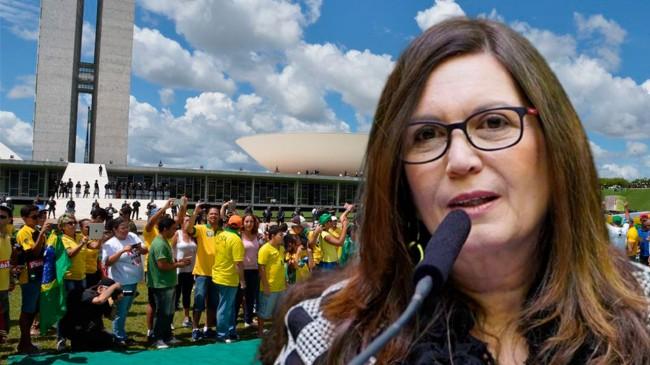 Bia Kicis - Foto: Câmara; Agência Brasil